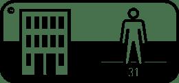 Symbol für Teppich Verlegung Class 31