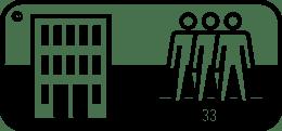 Symbol für Teppichboden Verlegung Class 33