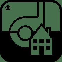 Symbol für Teppichboden Verlegung für gelegentliche Rollen