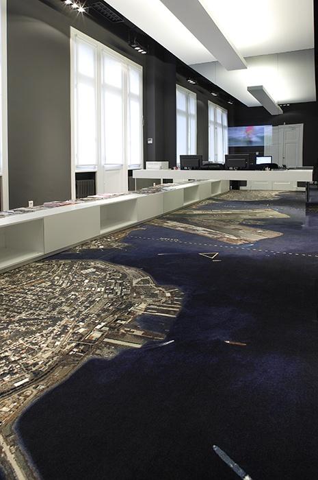 Individuelle Teppich in Büroräume: Nutzen Sie das Interior als Unterstützung der Brand