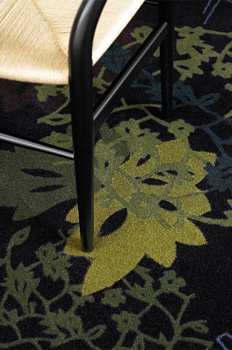 Teppich aus nachhaltigen oder recyclten Rohstoffen